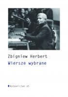 Okładka tomu  Zbigniewa Herberta